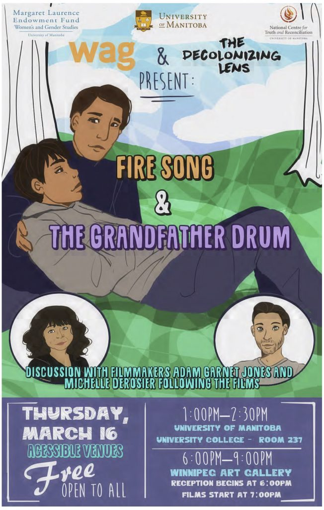 fire song and grandfather drum poster[2]